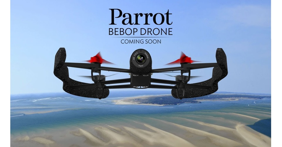 Parrot introduceert Parrot Bebop Drone