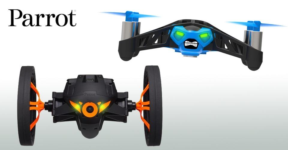 Parrot introduceert rijdende mini-drones