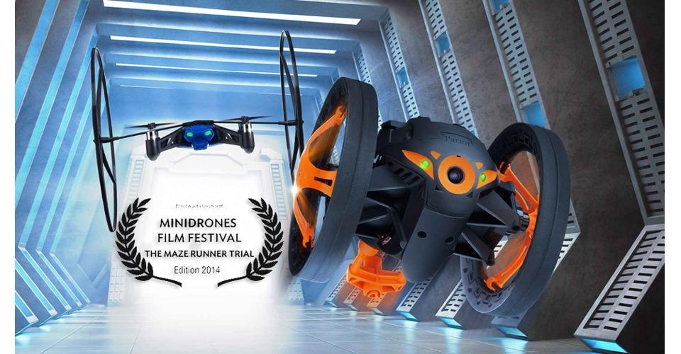 Parrot MiniDrones film festival