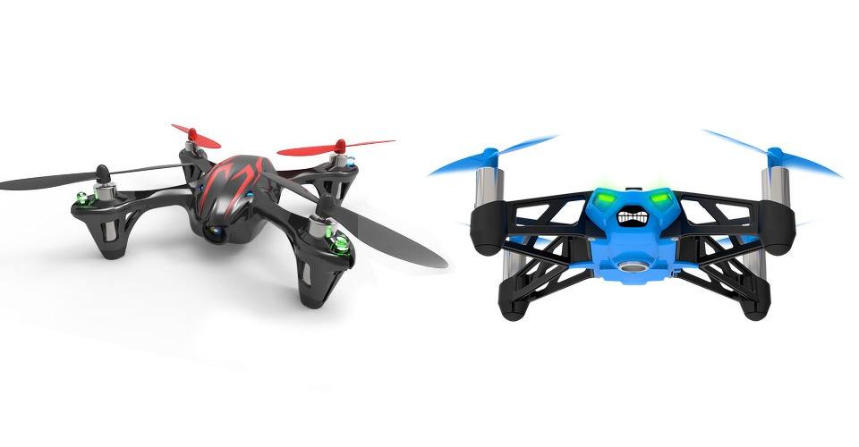 Twee drones onder de 100 euro: Parrot Rolling Spider vs Hubsan X4