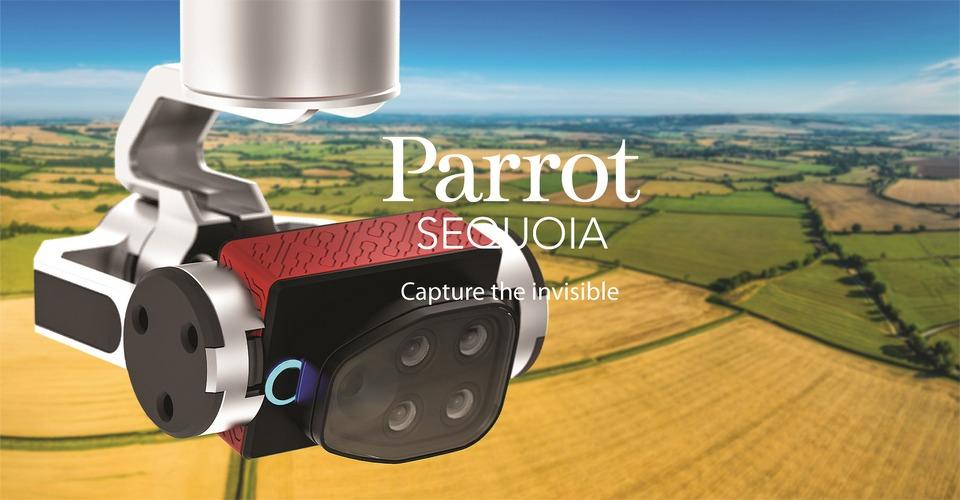 Parrot Sequoia sensor richt zich op agrarische sector