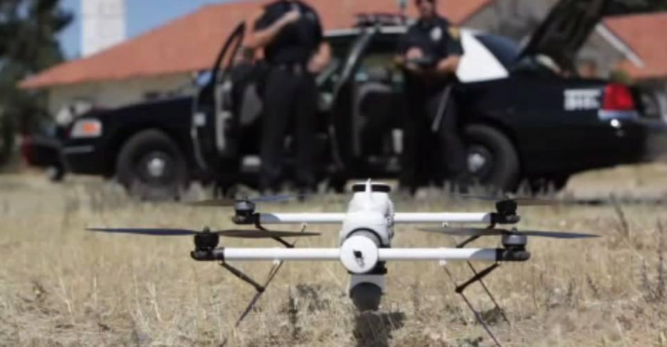 Politie in North Dakota spoort verdachten op met drone