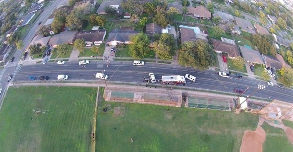 Politie Texas gebruikt drone voor onderzoek plaats delict
