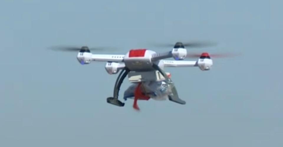 QuiQui wilt medicijnen per drone thuisbezorgen