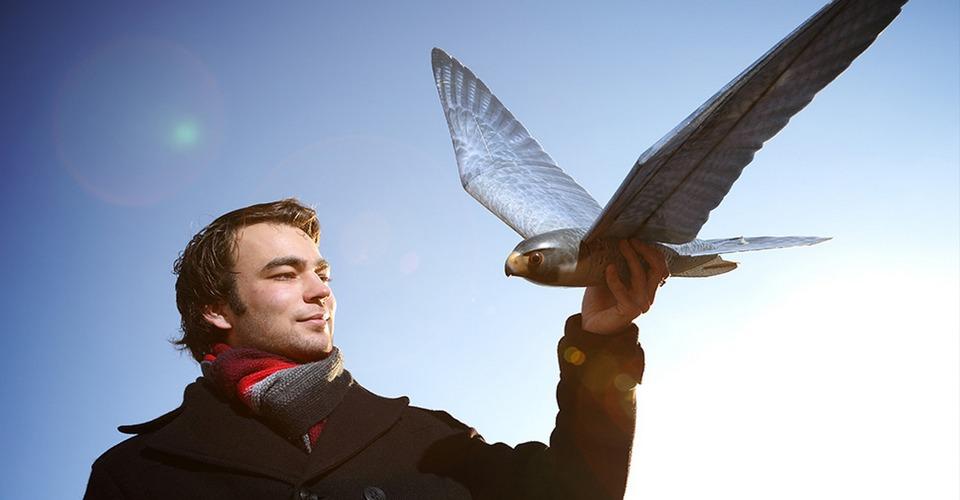 Nederlander ontwikkelt vliegende robotvogels