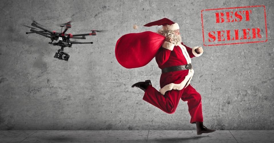 Sinterklaas En Kerstman Kunnen Ook Niet Ontkomen Aan Drone