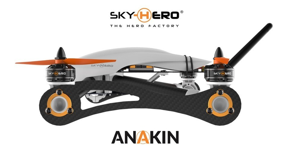 sky hero lanceert nieuwe fpv race drone. Black Bedroom Furniture Sets. Home Design Ideas