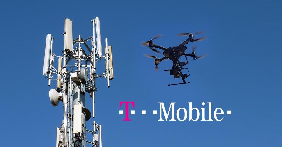 T-Mobile zet drones in voor inspectie antennes