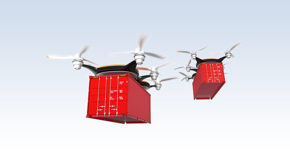 Logistieke sector gelooft in toekomst met drones