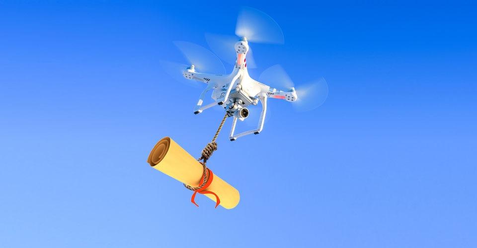 Drones zijn de nieuwe postduiven op Universiteit Singapore