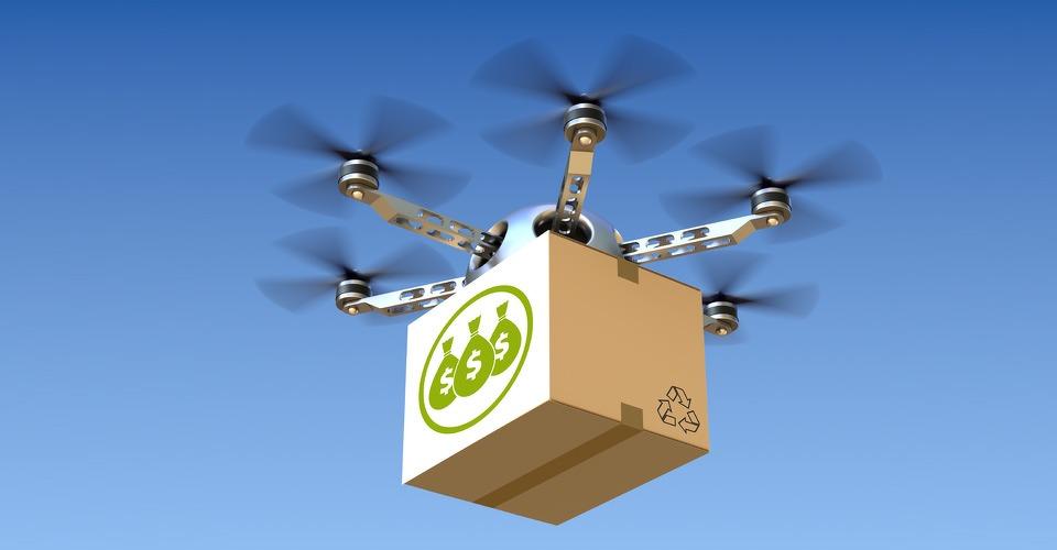 Steeds meer commerciële drones