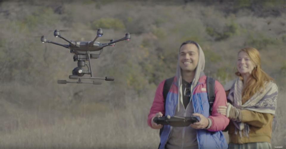 Yuneec Typhoon H: een obstakelontwijkende drone