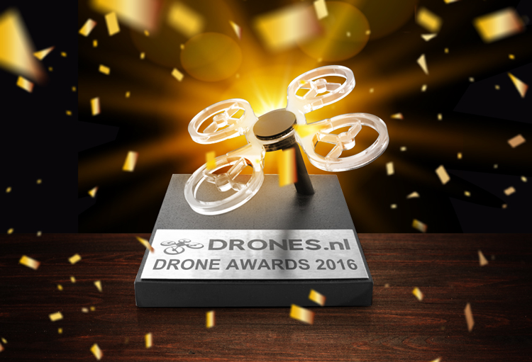 Nominaties Drone Awards 2016 bekend