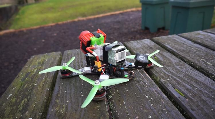 test drone r'bird black master dm240