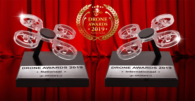 Sander Coppens over zijn Drone Awards 2019 nominatie